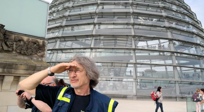 Das THW unterstützt den Deutschen Bundestag