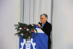 Bundestagsabgeordnete Ute Finckh-Krämer während ihres Grußwortes. Bild:THW/Paul Jerchel